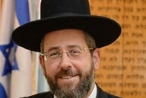 Rav David Lau, Grand-Rabbin Achkénaze d'Israël